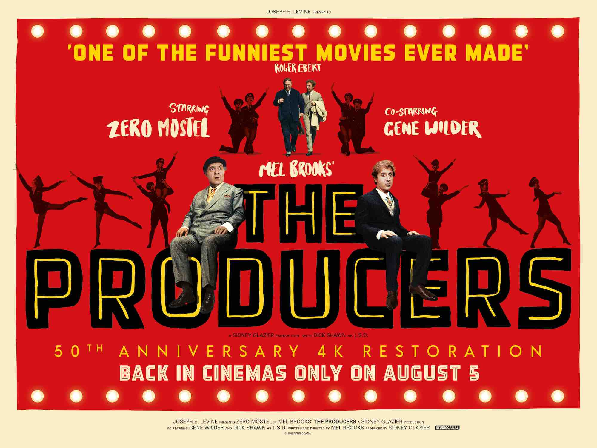 Studiocanal Have Announced That Mel Brooks Outrageous Comedy Classic The