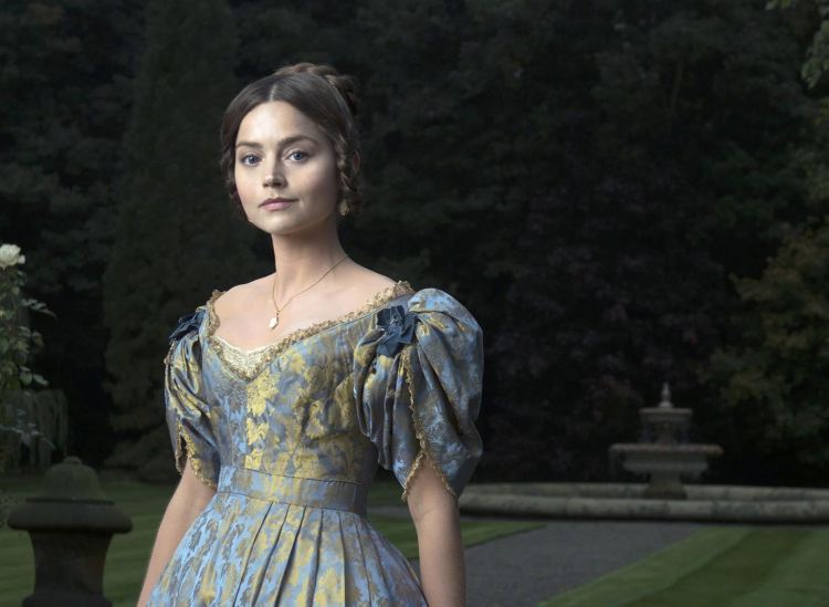 Jenna Coleman as Queen Victoria. Image: ITV