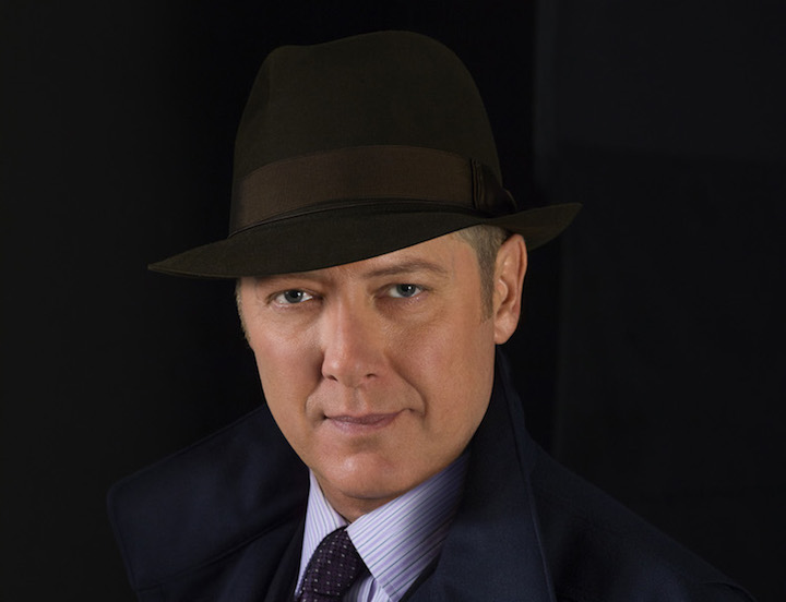 James Spader plays fugitive Red Reddington in The Blacklist. Image: Sony Pictures Television Inc.