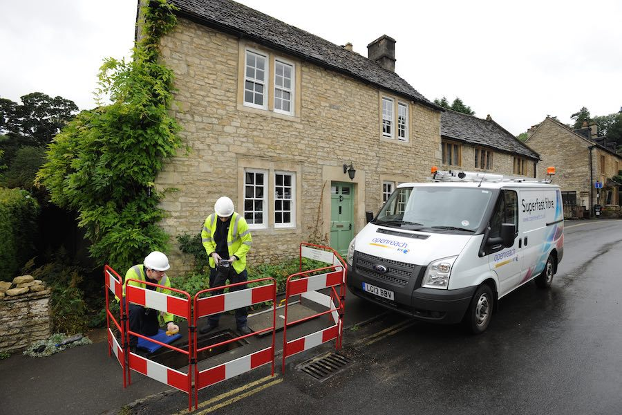 BT engineers connecting homes in Wiltshire and South Gloucestershire. Image: BT