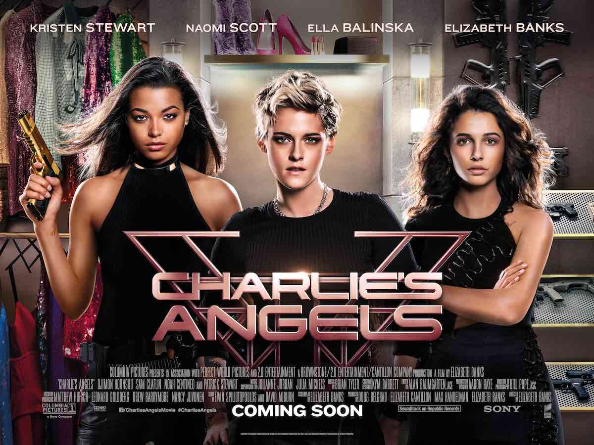 Watch the New Trailer for CHARLIE'S ANGELS