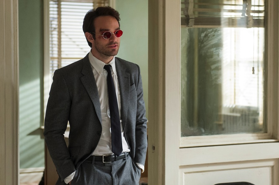 Charlie Cox stars in the Netflix Original Series Marvel's Daredevil. Image: Barry Wetcher
