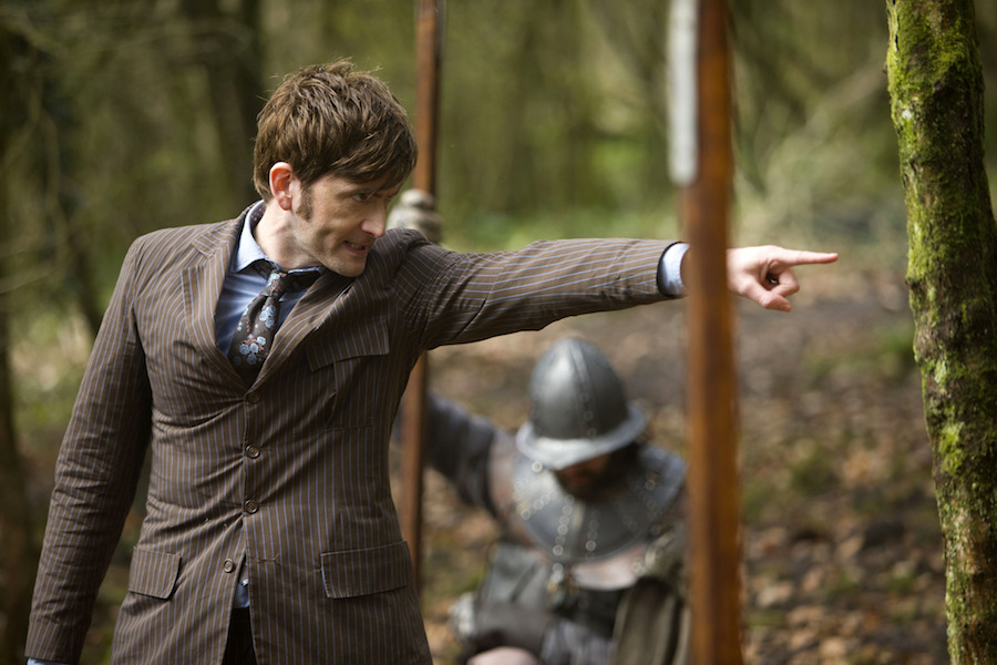 Tennant was last seen as The Doctor in the show's 50th anniversary special . Image: BBC/Adrian Rogers