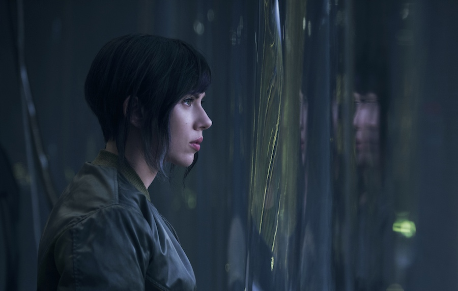 Scarlett Johansson plays the Major in Ghost in the Shell from Paramount Pictures and DreamWorks