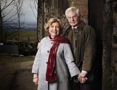 Derek Jacobi and Anne Reid star in Last Tango In Halifax. Image: BBC