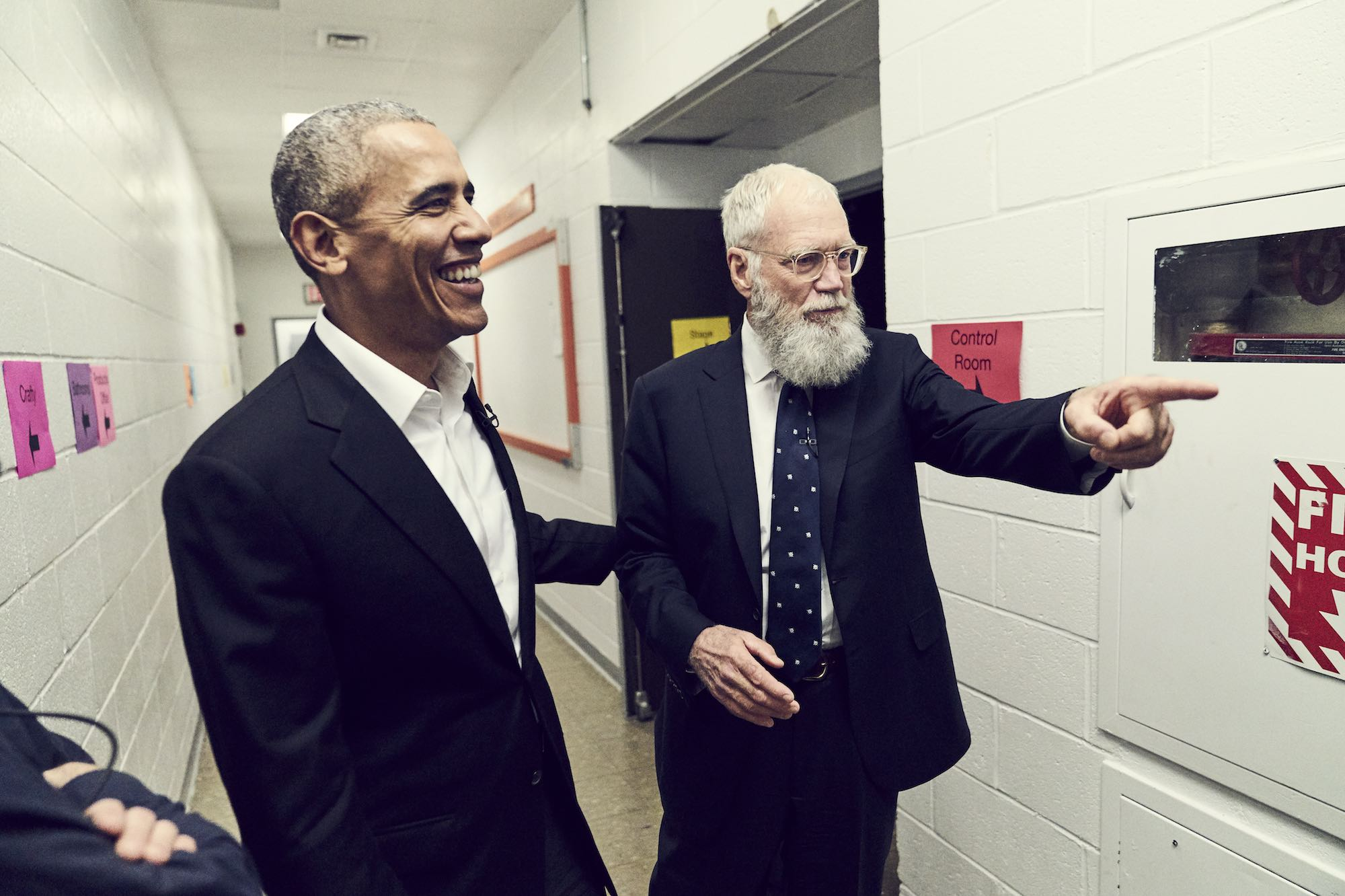 David Letterman's new Netflix talk show has a pretty incredible first guest