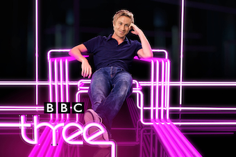 Russell Howard's Good News is one of BBC Three's top shows. Image: BBC/Avalon