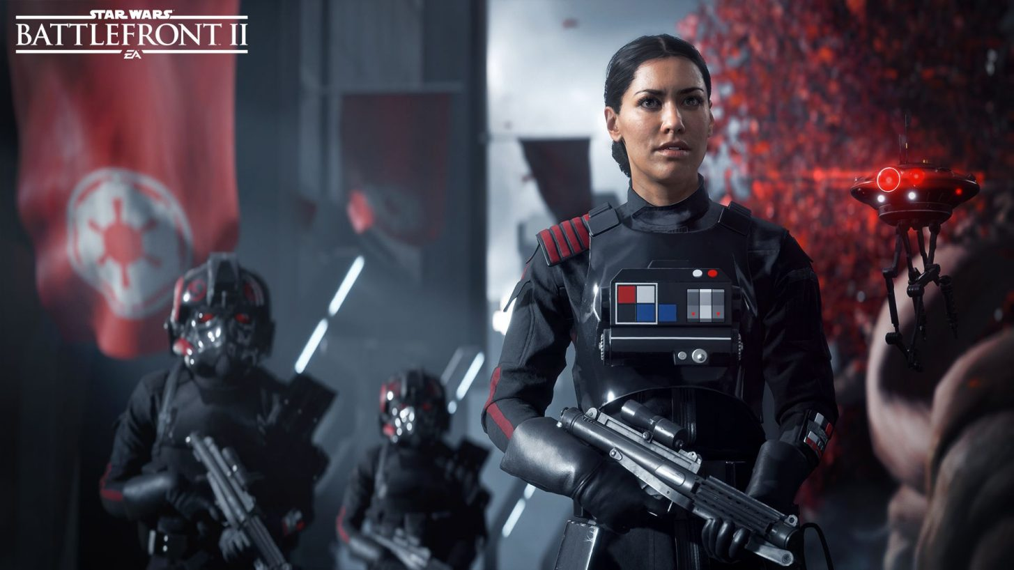 Iden Versio Receives The Emperor's Orders In Star Wars Battlefront II Cutscene