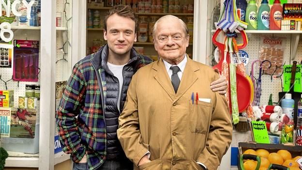 James Baxter and David Jason. Image: BBC