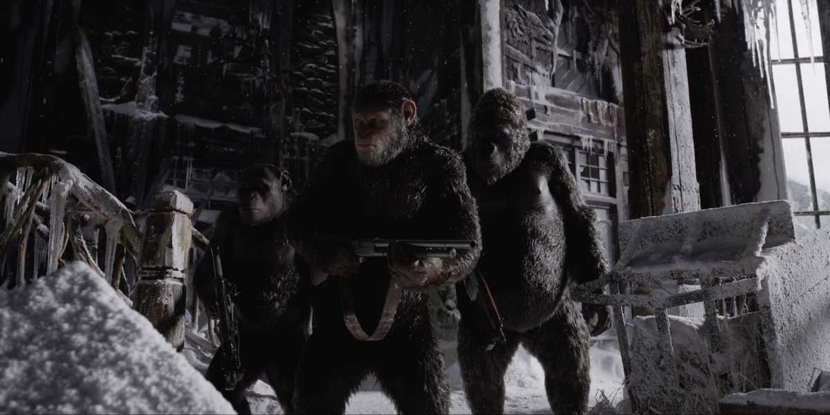 War for the Planet of the Apes – watch an all-new clip