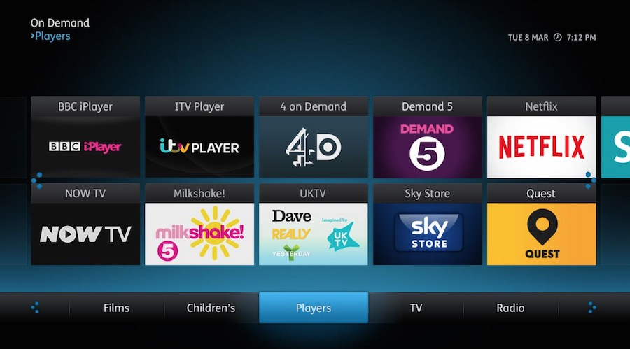 Plusnet's TV service will be based on the youView platform.