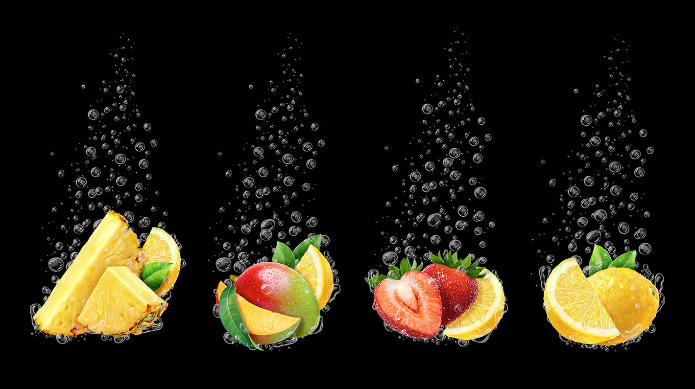 Freelance Fruit Group Illustrations