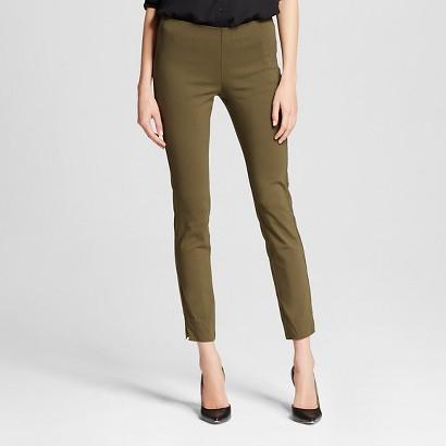 WhoWhatWear for Target_Womens Skinny Crop Pant Khaki