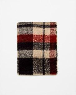zara-soft-check-scarf-black-red