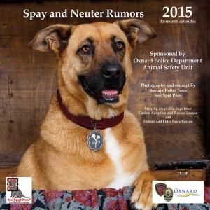 2015 dog calendar cover