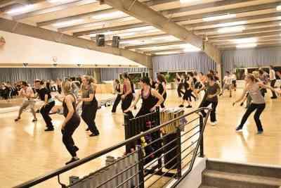Aerobic- und Fitnesskurs stark besucht