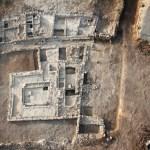 Aerial view of synagogue (© David Silverman and Yuval Nadel, Magdala Center)