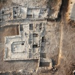 Aerial view of synagogue (© David Silverman and Yuval Nadel, Magdala Center)
