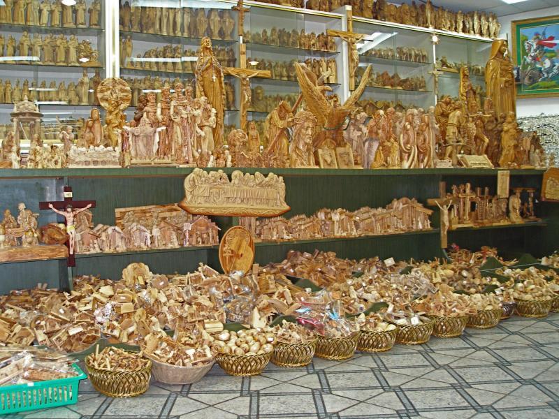 Palestinian Olive Wood Kitchen