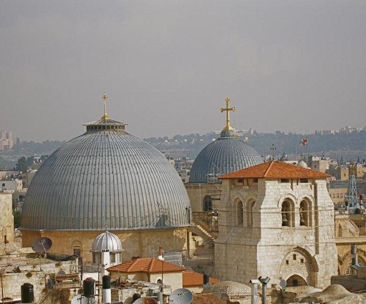 jerusalem church of the holy sepulchre