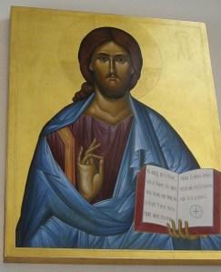 Icon of Jesus in Magdala church (© Mariette Poortman / Seetheholyland.net)