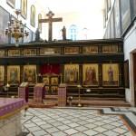 Iconostasis in St Alexander Nevsky chapel (Seetheholyland.net)