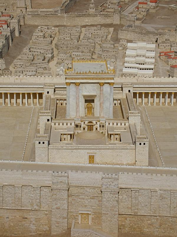 Model of Ancient Jerusalem  See The Holy Land