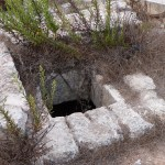 Entrance to well at Kathisma (Seetheholyland.net)