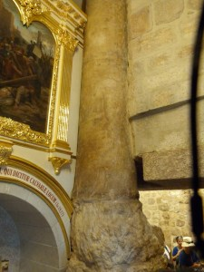 Seventh Station: Roman column at the western boundary of Jerusalem in Jesus' time (Seetheholyland.net)