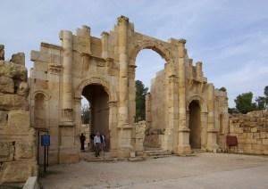 South Gate at Jerash (Berthold Werner / Wikimedia)