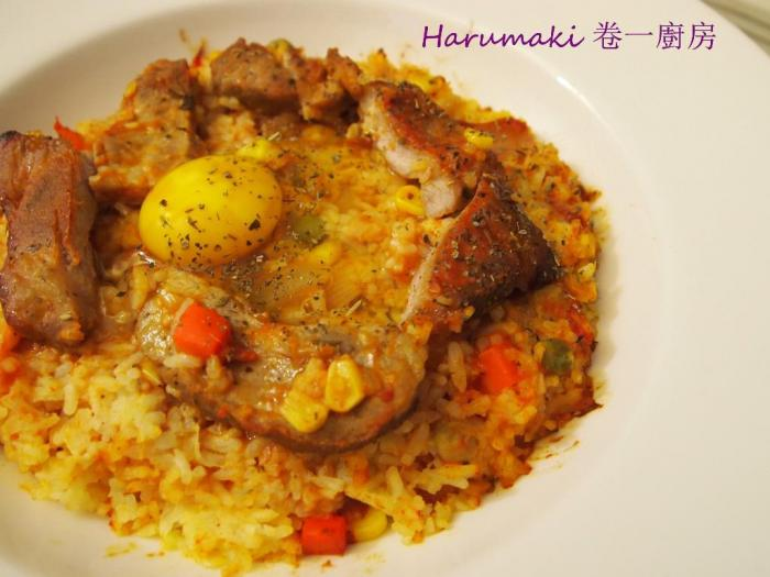 烤焗咖喱豬扒飯 (附食譜) - 粥粉麵飯 - SeeWide