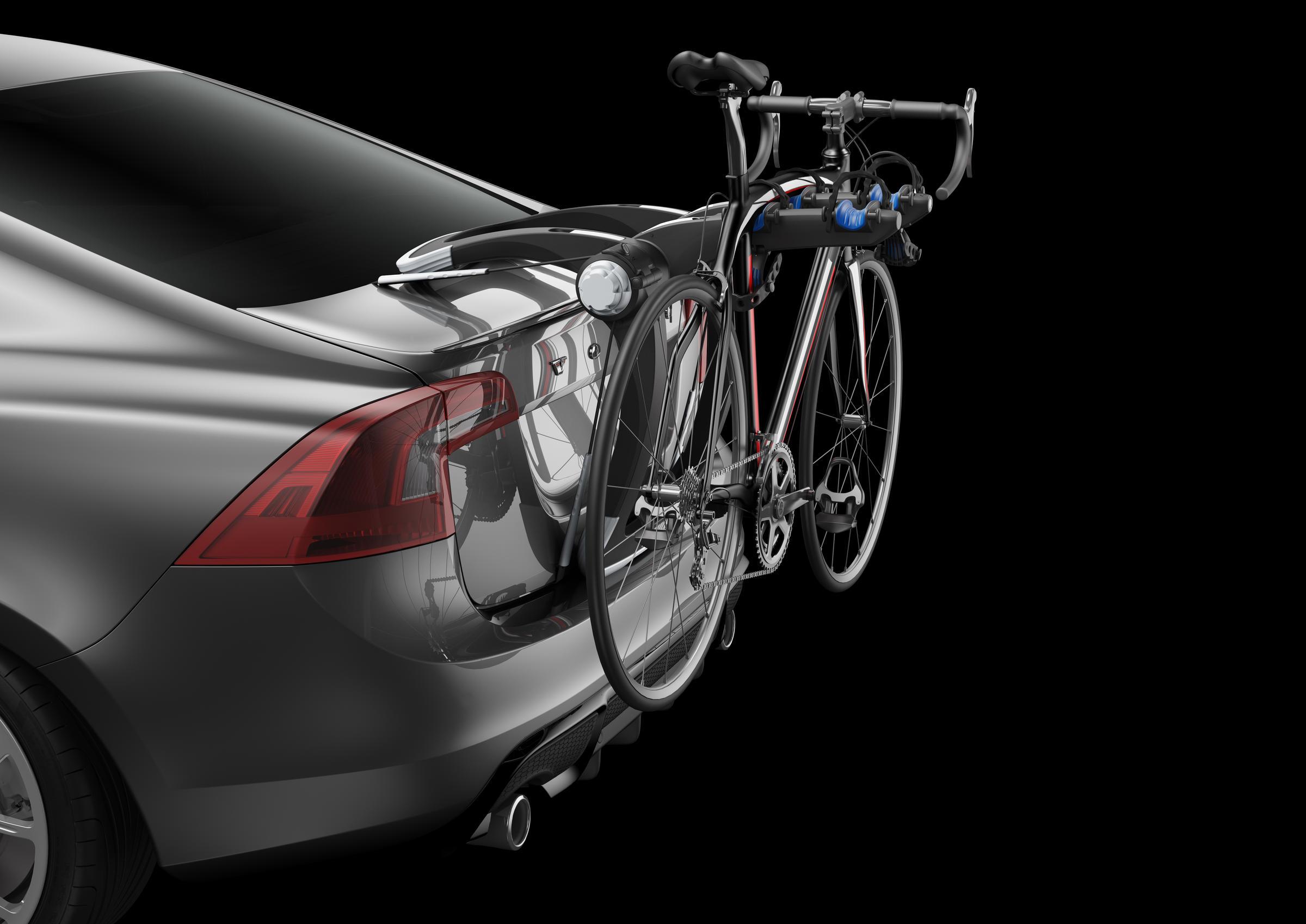 raceway trunk rack 2 bike