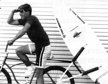 huntington rear mount bike surfboard rack