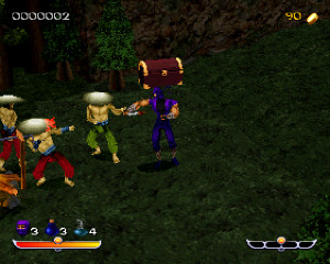 SEGA Saturn unreleased Games  Ninja   Core Design Screenshot