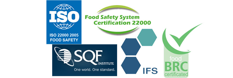 IFS, 22000, SQF, FSSC 22.000, SEGAL