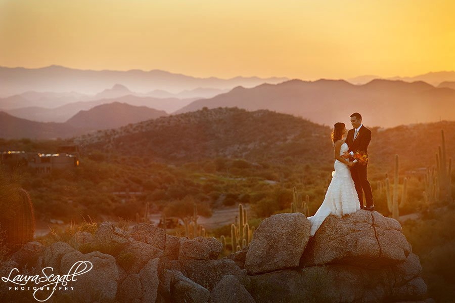 Jody And Todds Desert Mountain Wedding Scottsdale