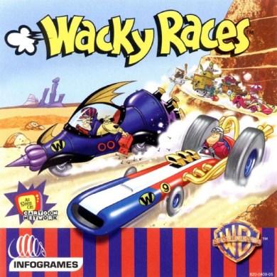 WACKY RACES (NTSC) - Front