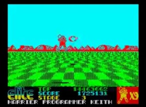 Space Harrier - ZX Spectrum [1986]