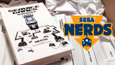 Rise and Fall of SEGA book giveaway