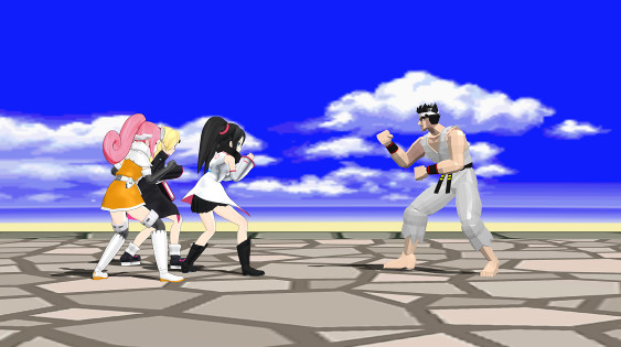 sega hard girls akira from Virtua Fighter