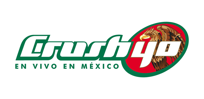 Crush40 at Mexico Logo