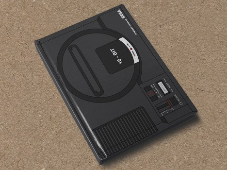 Mega Drive hardcover notebook by Yellow Bulldog