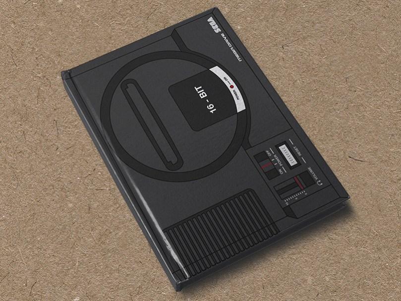 Mega Drive hardcover notebook by Yellow Bulldog