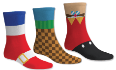 Sonic socks by by Yellow Bulldog