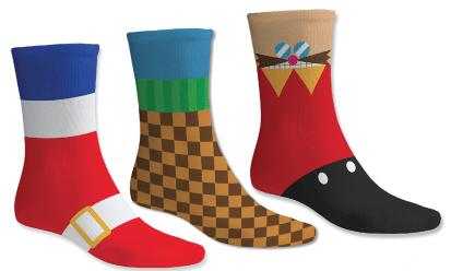 Sonic socks by by Yellow Bulldog