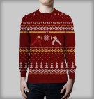SFII X-mas Sweater by Yellow Bulldog
