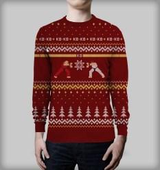 SFII X-mas Sweater by Yellow Bulldog