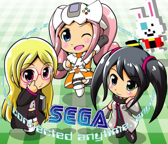 SEGA Hard Girls by Te tsuko