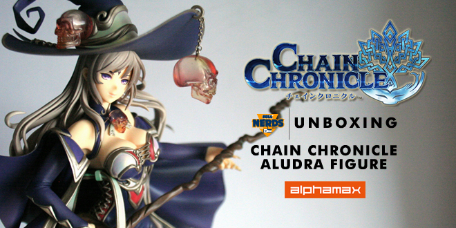 Chain Chronicle Aludra figure by Alphamax