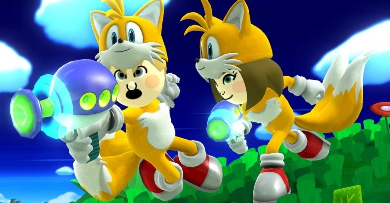 Knuckles And Tails Mii Costumes Coming To Super Smash Bros